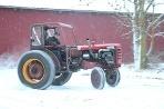 Traktor Terror driftuje -