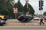 Fridley Police crash