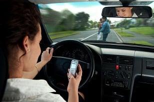 Jedna SMS za volantom
