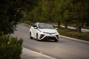 Toyota Mirai je novinkou