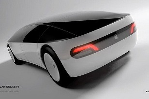 Apple Car Concept zozadu