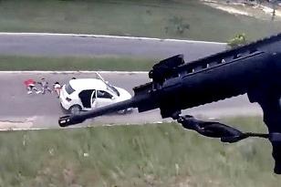Vrtuľníkom na ukradnuté auto