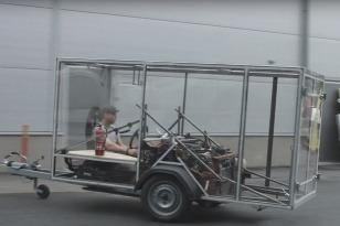 VW Pasat cúval s