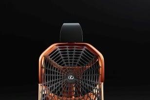 Lexus predstaví koncept pavúčieho