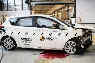 crash test Corolla 2015