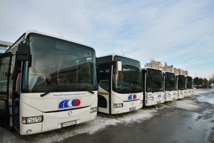 Autobusy SAD Zvolen