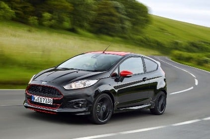 Ford Fiesta Red Black