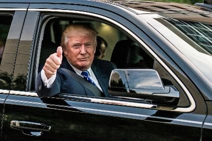 Donald Trump a jeho