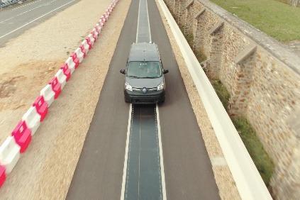 Renault bezdrôtové nabíjanie