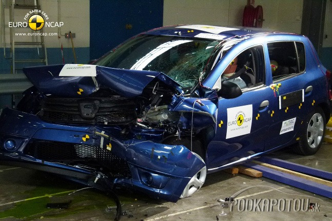 Euro NCAP crash testy