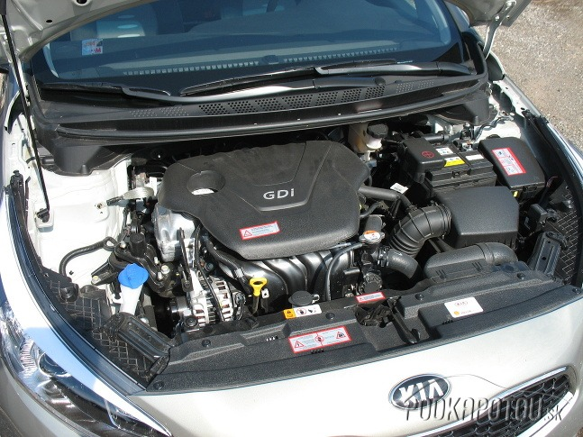 Moderný motor GDI s