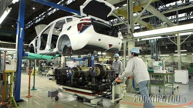 Sedan Toyota Mirai využíva