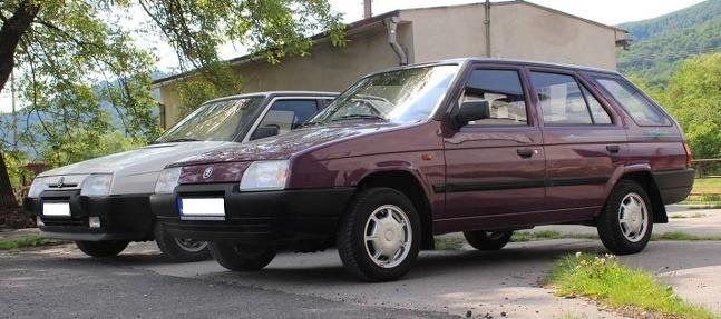 Škoda Forman, Škoda Favorit