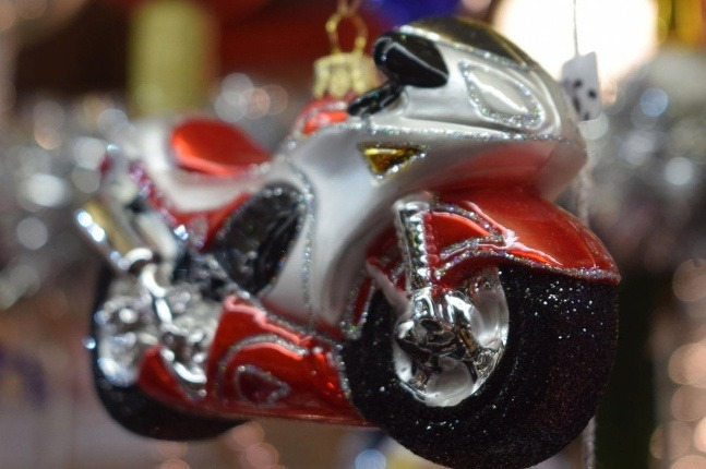 Vianočná guľa v tvare