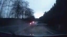 Policajná naháňačka v Čechách
