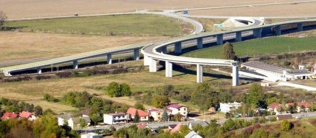 Nedokončené stavby diaľnich a