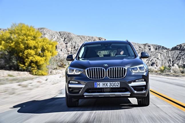 Nové BMW X3 2017