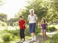 Aktívna babička a vnúčatá