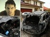 FOTO Danglovi podpálila auto