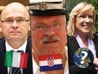 Traja najvyšší ústavní činitelia a miesta ich oddychu