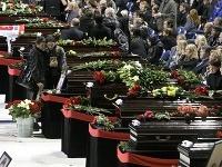 Jaroslavľ smúti za obeťami leteckého nešťastia