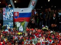 Rozlúčka s Pavlom Demitrom v Bratislave.