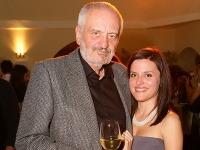 Milan Lasica s dcérou Hankou. Herec je po včerajšku hrdým dedkom.