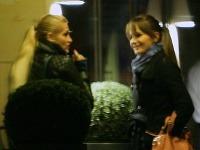 Dara Rolins sa po záťahu s kamarátkou vrátila do hotela k Rytmusovi.