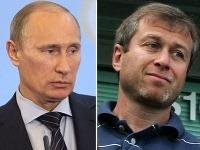Ruský premiér Vladimir Putin a miliardár Roman Abramovič