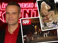 Jaro Slávik a jeho talentovaná blondínka.