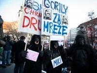 Proti Gorile sa dnes chystajú protestovať desaťtisíce občanov