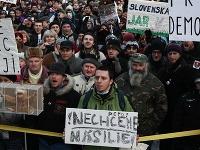 Protest Gorila 3 v Bratislave