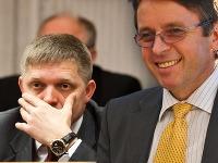 Expremiér Fico a minister Mikloš