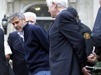 Zatknutí Geogre Clooney a jeho otec Nick
