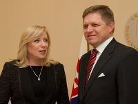 Iveta Radičová a Robert Fico