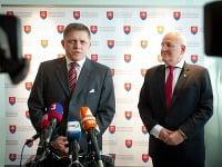 Robert Fico a Dušan Čaplovič