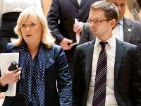 Iveta Radičová a asistent Michal Daňo