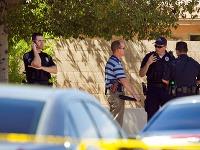 Polícia na mieste činu vyšetruje okolnosti streľby