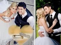 Peter Menky sa po dvoch rokoch oženil s priateľkou Monikou.