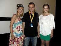 Herečky Siposová a Marcinková uviedli na AFF film 360. Vyvolal veľký záujem