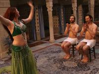 Juraj Kemka a Lukáš Latinák boli z brušnej tanečnice nadšení.