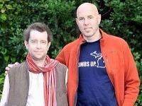 Andy (naľavo) a jeho záchranca John