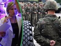 Martina Balleková prešla od prvej dámy do armády.