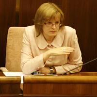 Podpredsedníčka SNS Anna Belousovová