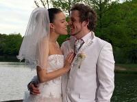 Michaela Drotárová a Tomáš Šálek sa v deň svadby dozvedeli, že budú mať bábätko.