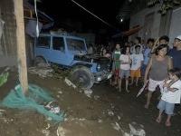 Škody spôsobené zemetrasením v meste v meste Cagayan De Oro