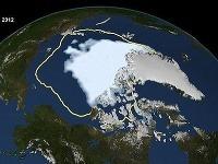 Topenie ľadu v Arktíde sa počas leta neustále zväčšuje