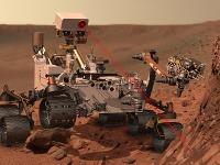 Curiosity hľadá na Marse stopy života