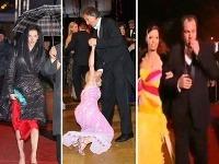 Na plese sa nepredviedli príliš dobre Adela Banášová, Veronika Žilková či Roman Donoval.