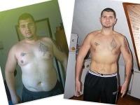 Dokázal to za rok. Ivajlo zhodil 50 kilogramov iba zmenou stravovania a cvičením.